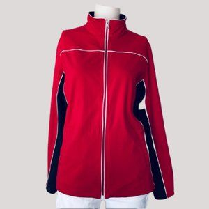 MADE FOR LIFE Women's Activewear Jacket Red XL